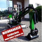 Minibagger Microbagger 360° drehbar 800