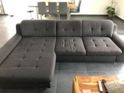 Sofa Couch L-Form in grau