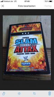 Slam Attax Sammelkarten