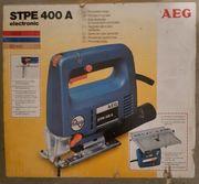 AEG STPE 400 A Pendelhubstichsäge