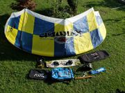 Kiteausrüstung Kiteboard Kite Adcance Kitegurt
