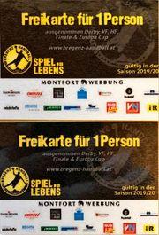 2 Freikarten Bregenz Handball