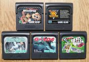 Sega Game Gear Spiele GameGear