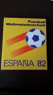Fussball BUCH WM 82 Fußball