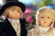 käthe kruse Puppen Pärchen