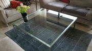 Designer Glastisch Glas Tisch Wohnzimmertisch