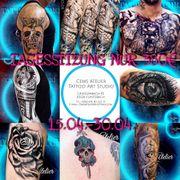 Tattoo Tagessitzung um nur 380