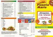 Pizza Flyer Flyer Lieferservice Imbiss