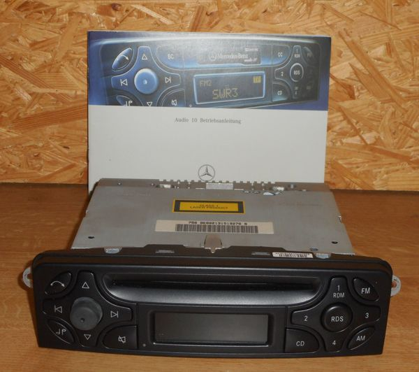 Original Mercedes Autoradio Becker Audio