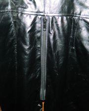 Leder Overall schwarz Gr S