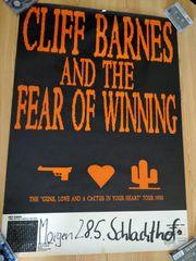 Konzertplakat Clliff Barnes and the