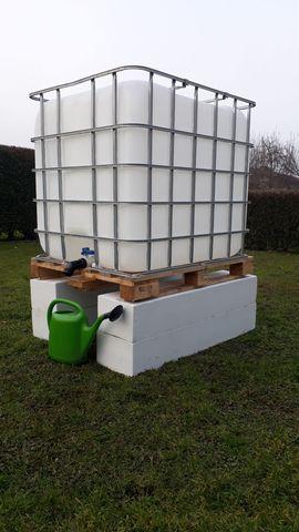 Wasserbehälter für garten