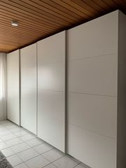 IKEA PAX Kleiderschrank weiß 400x58x236