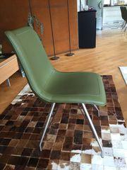 Stühle Esszimmerstuhl Design Grün Neuwertig