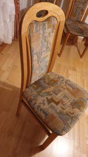 Stuhl Esszimmerstuhl gepolstert