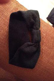 Haarband schwarz und Geld Armband