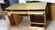 Schreibtisch - preiswert echtes Eichenholz rustikal