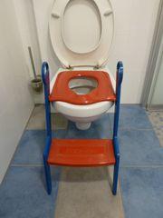 Kinder-WC-Sitz mit Trittstufe BabyLoo