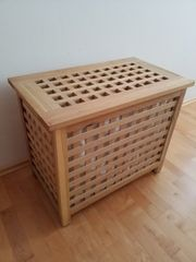 Wäschetruhe Holz
