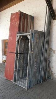 Baugerüst LAYHER ca 130m²