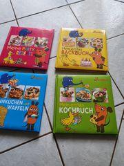 4 Kinder-Kochbücher von Die Maus