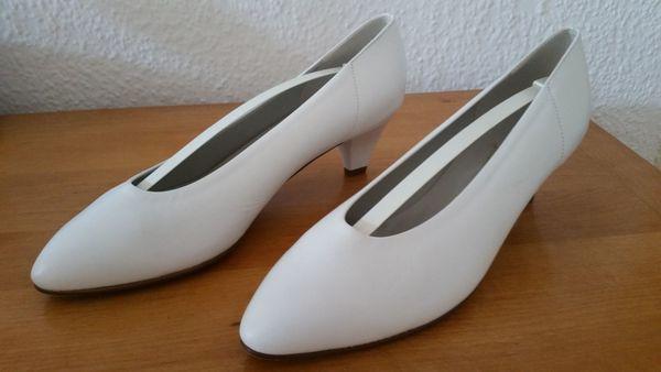 Pumps Gr 41 Weiß Schuhe