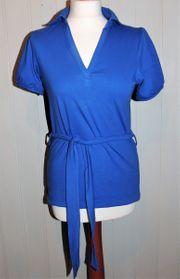 Blaues Shirt Größe 36 38