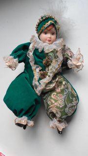 Kasper- Harlekin-Puppe