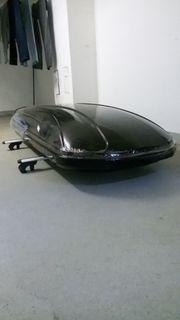 Dachbox 580 Liter Relingdachträger vormontiert