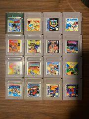 Gameboy Spiele