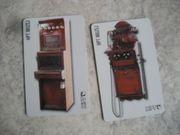 Konvolut 2x Telefonkarten Musik Instrument