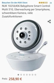 Wlan - Babyphone mit Kamera Überwachungskamera