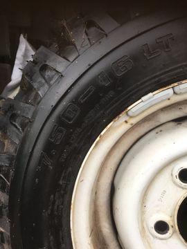 Sonstige Reifen - Range Rover Defender Ersatzreifen