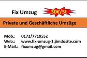 Private Umzüge - Büro Umzüge - Firmen