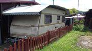 Schutzdach für Wohnwagen