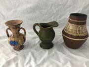 3 Vasen Blumenvasen