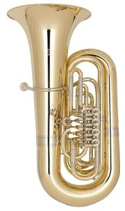 Miraphone 170496A1100 Goldmessing Bb - Tuba