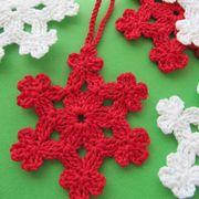 Weihnachten Geschenkanhänger Schlüsselanhänger Ohrhänger gehäkelt