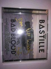 BASTILLE Fanartikel original signiert CD
