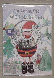 Schüttelkarte - Weihnachten