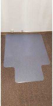 Bodenmatte Bürostuhlunterlage Bodenschutzmatte Stuhlunterlage Transparent