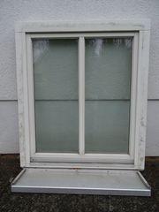 1 Fenster weiß Holz Dreh-Kipp