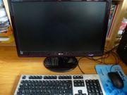Komplet PC System mit Monitor
