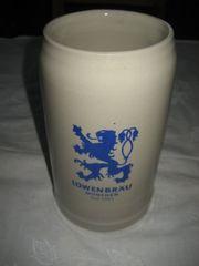 Bierkrug Löwenbräu München 1 Liter