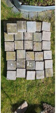 Pflaster Rand steine zu verschenken