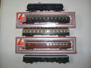 6 Lima H0 D- Zug-Wagen