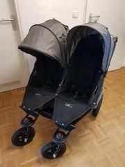 Zwillingskinderwagen TFK Twinner Lite Schwarz