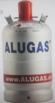 Alu gas Flaschen voll unbenutzt