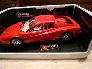 Metal Modell Ferrari
