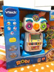 Vtech Lernroboter Robi spielen singen